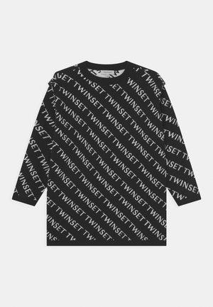 MINI ABITO - Abito in maglia - nero