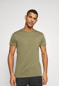 REVOLUTION - Print T-shirt - army - 4
