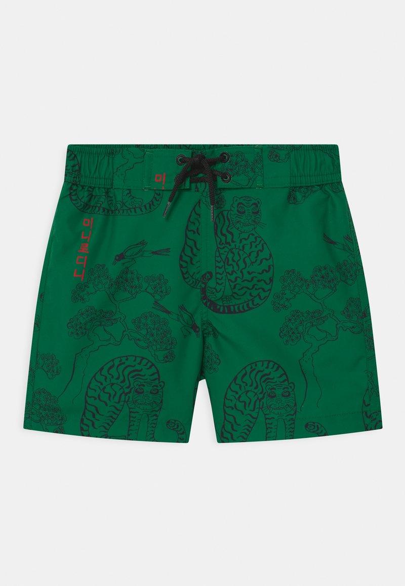 Mini Rodini - TIGERS - Swimming shorts - green