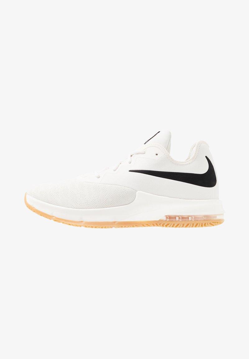 Nike Performance - AIR MAX INFURIATE III LOW - Obuwie do koszykówki - phantom/black/wolf grey/light brown/volt