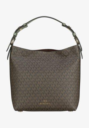 LUCY SIGNATURE - Handbag - army green