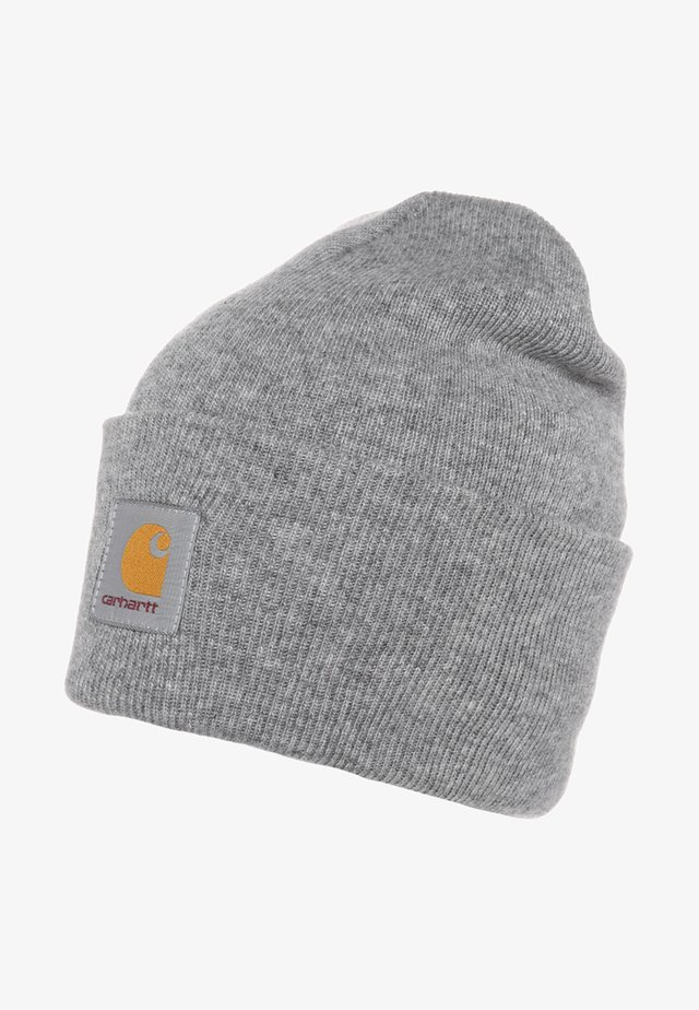 WATCH HAT UNISEX - Mössa - grey heather