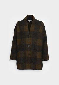 PLAID COAT DIRECT EXCLUSIVE - Cardigan - juniper