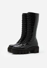 Kennel + Schmenger - VIDA - Platform boots - schwarz - 2
