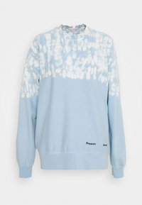 Proenza Schouler White Label - FLUID TIE DYE LONG SLEEVE - Collegepaita - blue/pearl tie dye dot - 0