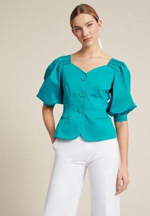 VAGLIA - Summer jacket - turchese