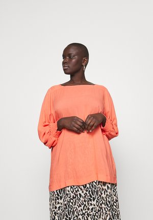 SOLKA BAT SLEEVE BLOUSE - Blouse - living coral