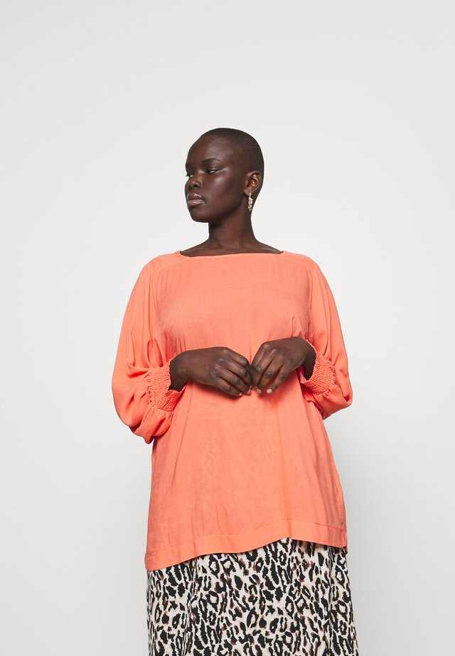 SOLKA BAT SLEEVE BLOUSE - Bluser - living coral