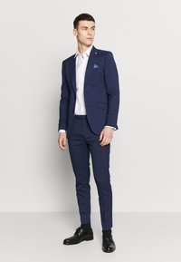 Burton Menswear London - HIGHLIGHT CHECK - Suit jacket - navy - 1