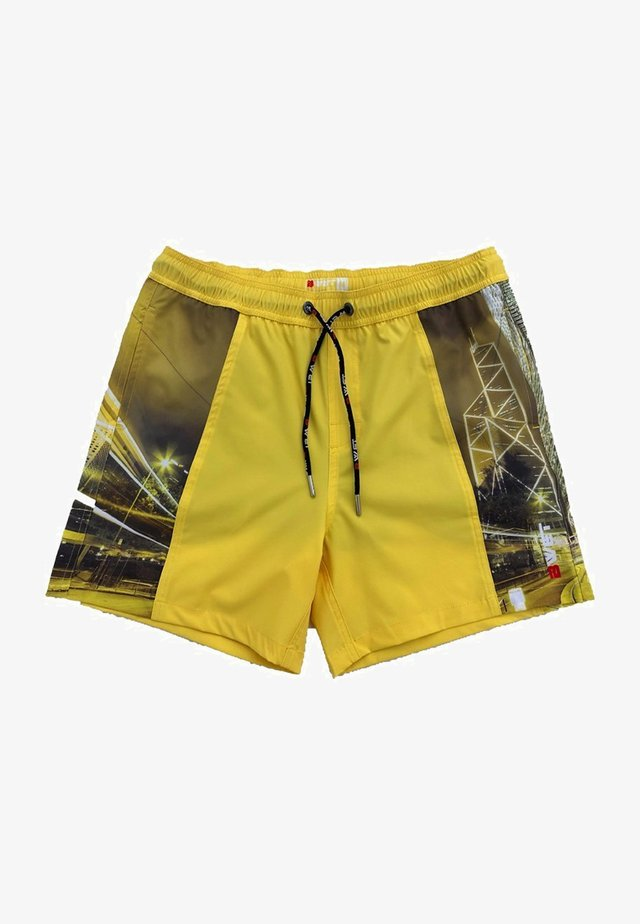 ECO-FRIENDLY QUICK DRY UV PROTECTION PERFECT FIT  - Zwemshorts - yellow