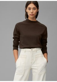 Marc O'Polo - Jumper - dark chocolate - 0