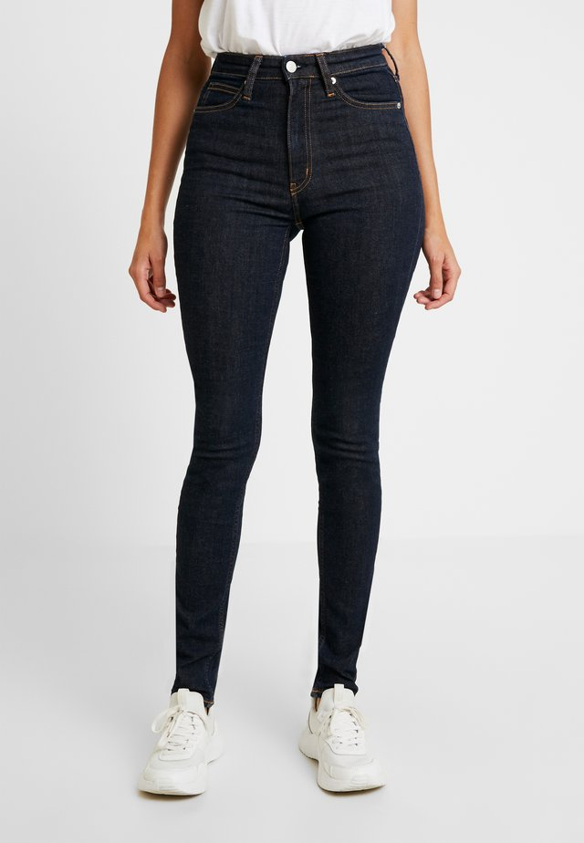 HIGH RISE - Jeans Skinny Fit - amsterdam blue rinse