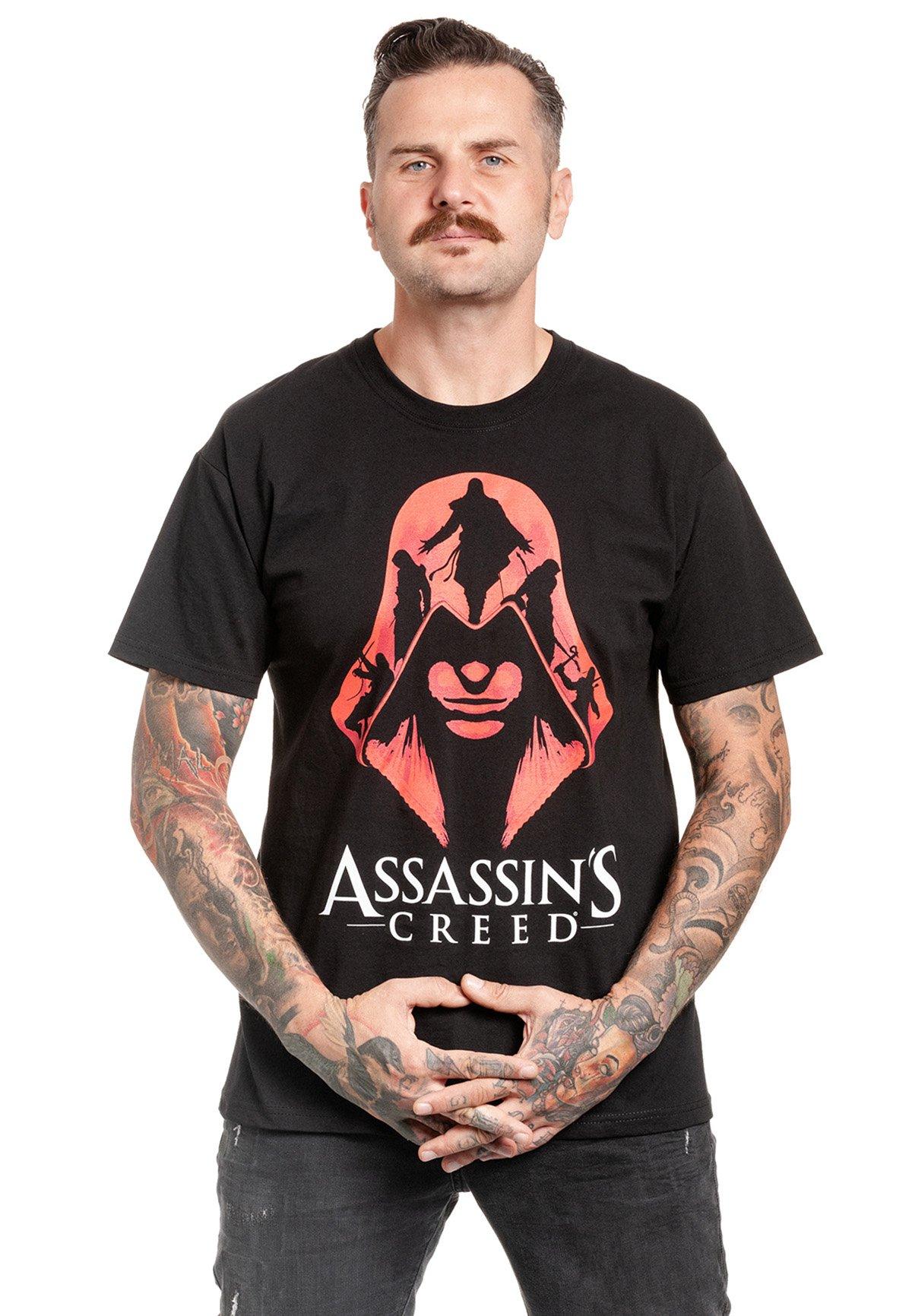 Herren ASSASSINS CREED RED COAT - T-Shirt print