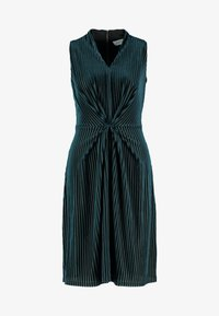 Closet - CENTRE PLEATS A LINE DRESS - Cocktail dress / Party dress - teal - 5