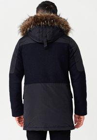 INDICODE JEANS - Winter coat - navy mix - 2