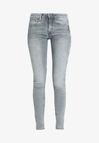 3301 DECONSTRUCTED MID SKINNY - Jeans Skinny Fit - lt aged