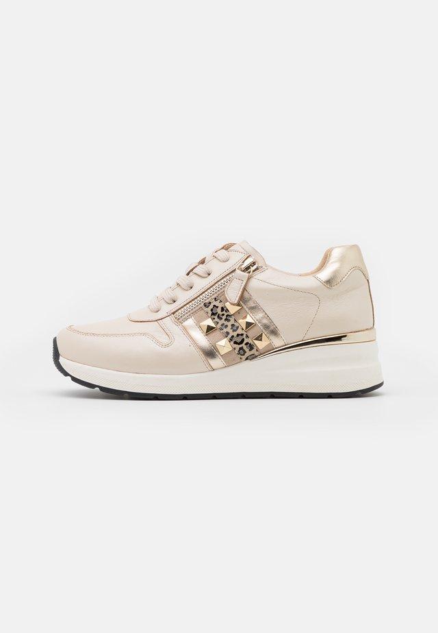 WOMS  - Sneakers basse - beige