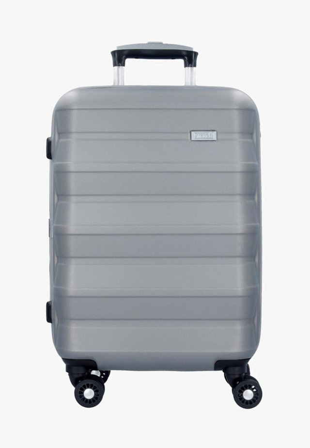 PILE  - Wheeled suitcase - silver