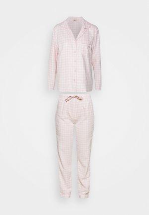GINGHAM PJ IN A BAG - Pyjamas - powder pink