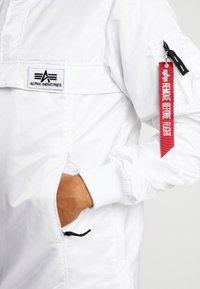 Alpha Industries - ANORAK - Jas - white - 3