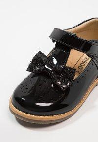 Friboo - Ballerina's met enkelbandjes - black - 2