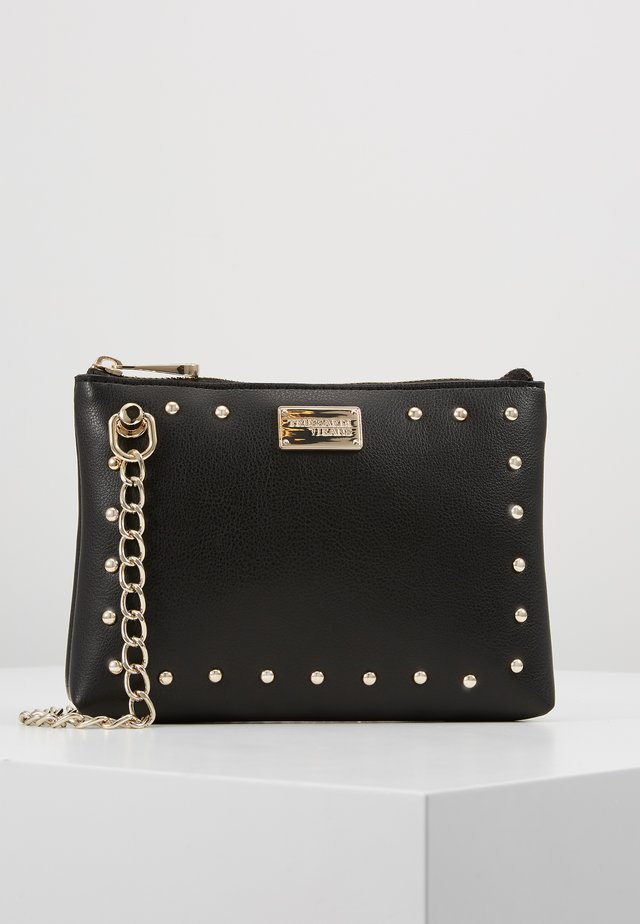 DAFNE POUCH MICRO STUDS - Across body bag - black
