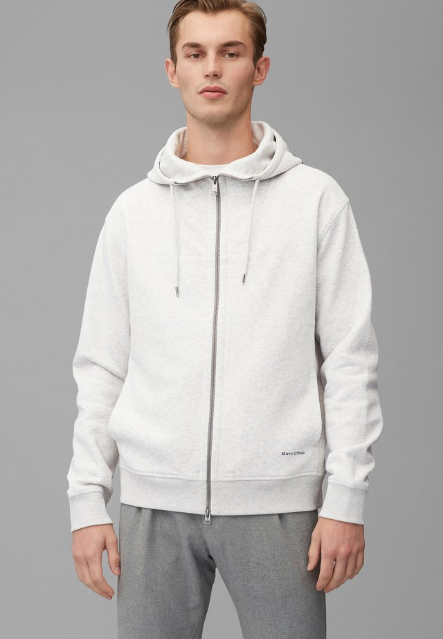Zip-up hoodie - twentyfour grey