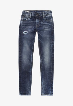 NICKELS - Straight leg jeans - denim
