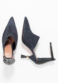 MAX&Co. - ACUTI - High Heel Sandalette - navy blue - 3