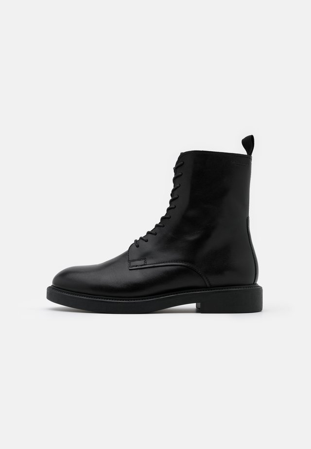 ALEX - Bottines à lacets - black