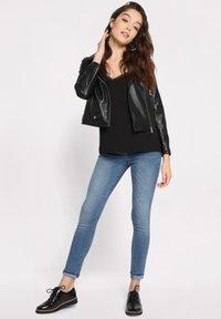 Cache Cache - Faux leather jacket - noir - 1