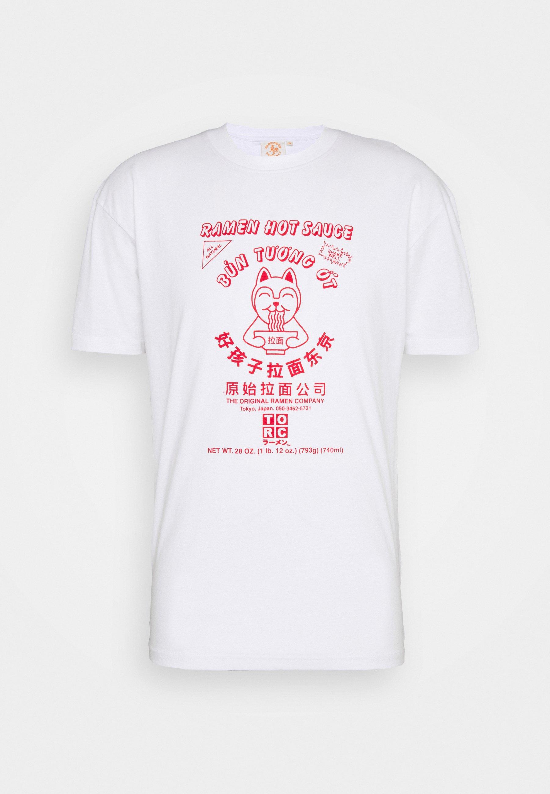 Men SRIRACHA HOT LOGO TEE - Print T-shirt