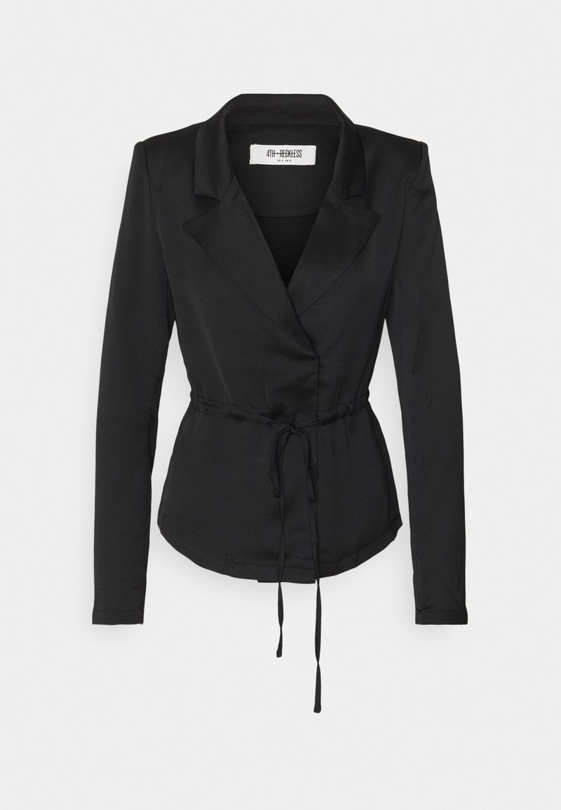 4th & Reckless - KIRBY BLOUSE - Blouse - black