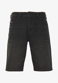 Diesel - THOSHORT - Szorty jeansowe - black - 5