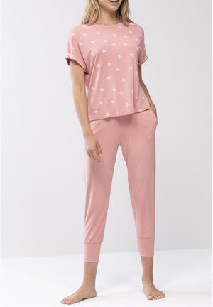 SCHLAFHOSE LANG SERIE SLEEPY&EASY - Pyjama bottoms - wild rose