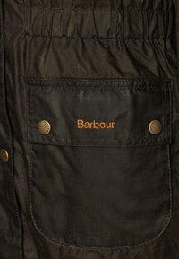 Barbour - GIRLS HAMLET - Waterproof jacket - archive olive - 2