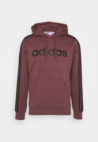 adidas Performance - 3 STRIPES ESSENTIALS SPORTS HOODED - Sweat à capuche - red - 4