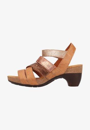 Sandals - tan/kombi 3000