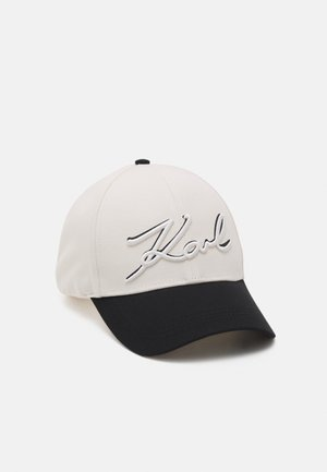 NEW SIGNATURE - Cap - black/white