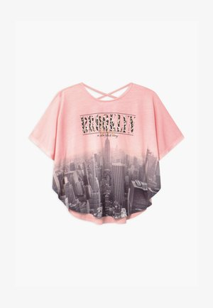 BROOKLYN - Print T-shirt - pink