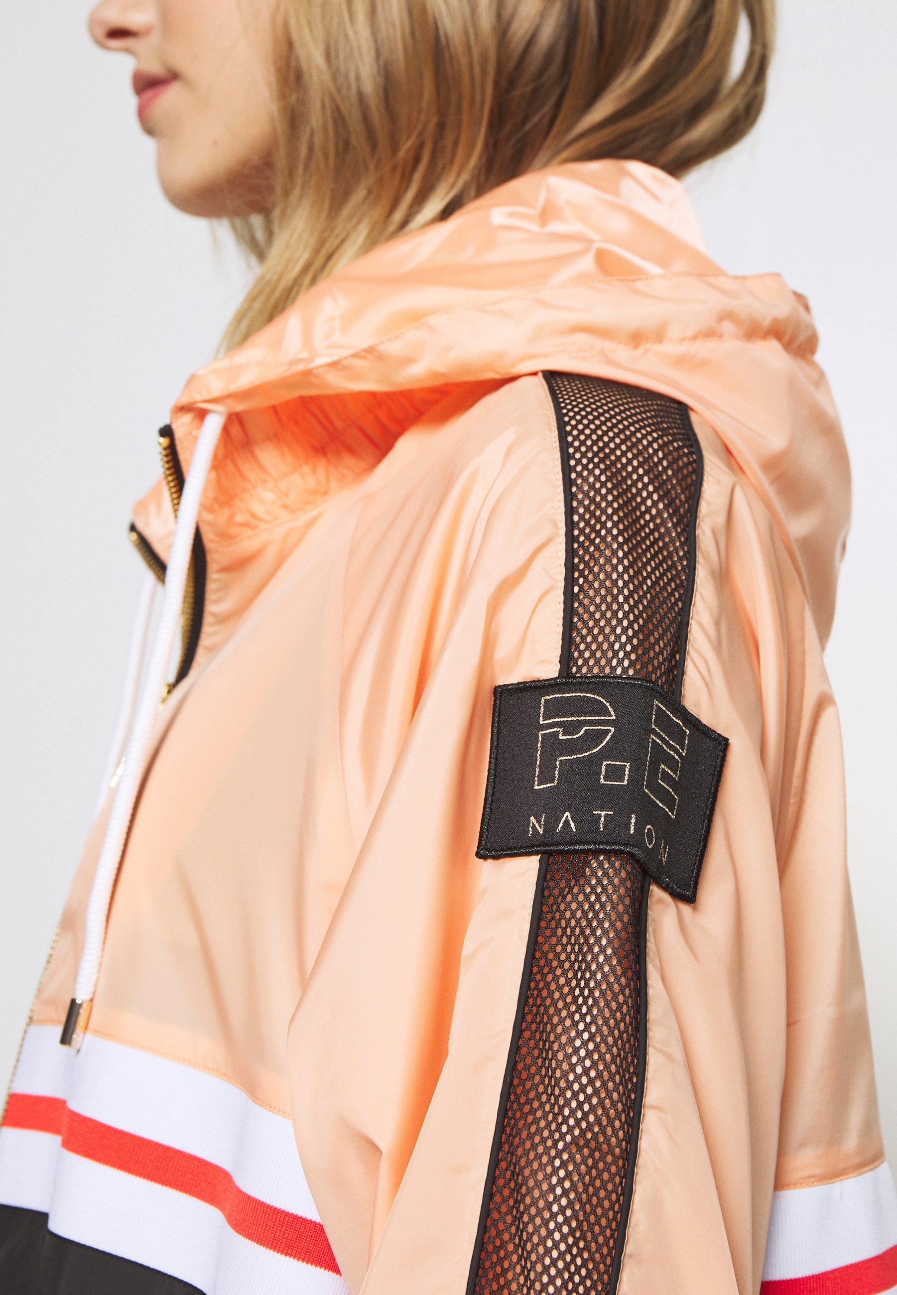 P.E Nation MAN DOWN JACKET - Training jacket - orange pale 7H0cY