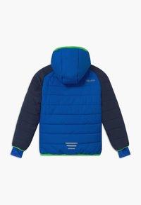 TrollKids - KIDS HAFJELL SNOW JACKET PRO - Ski jacket - navy/med blue/green - 1