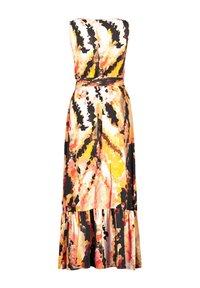 Taifun - Maxi dress - papaya gemustert - 3