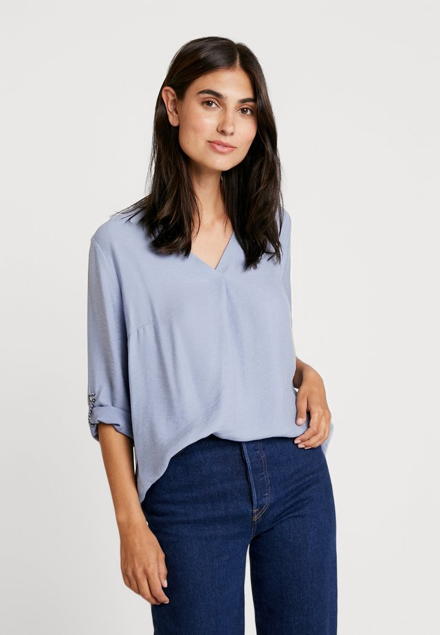 Blouse - water blue