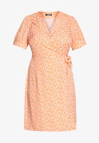 Fashion Union Plus - MERYL DRESS - Day dress - cantalope - 4