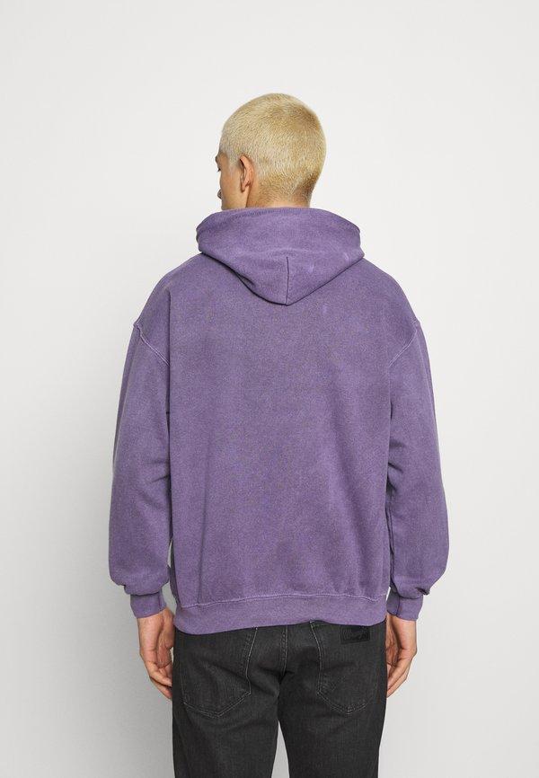 Mennace MENNACE MOTORSPORT HOODIE - Bluza - purple/fioletowy Odzież Męska LMQZ