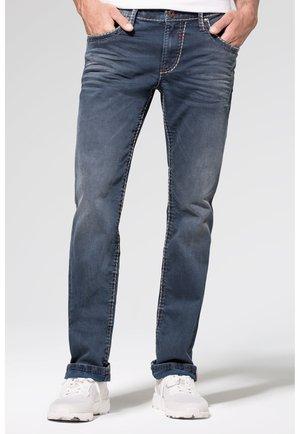 VINTAGE-WASCHUNG UND BREITEN NÄHTEN - Straight leg jeans - old blue used