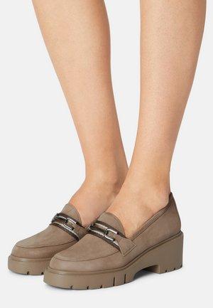 JIGA - Platform heels - taupe