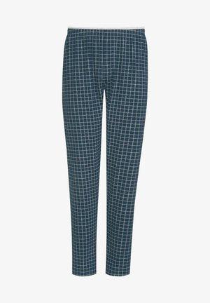SCHLAFHOSE LANG - Pyjama bottoms - yacht blue