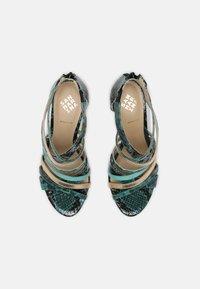 San Marina - NITORA MUSA - High heeled sandals - lagon - 5